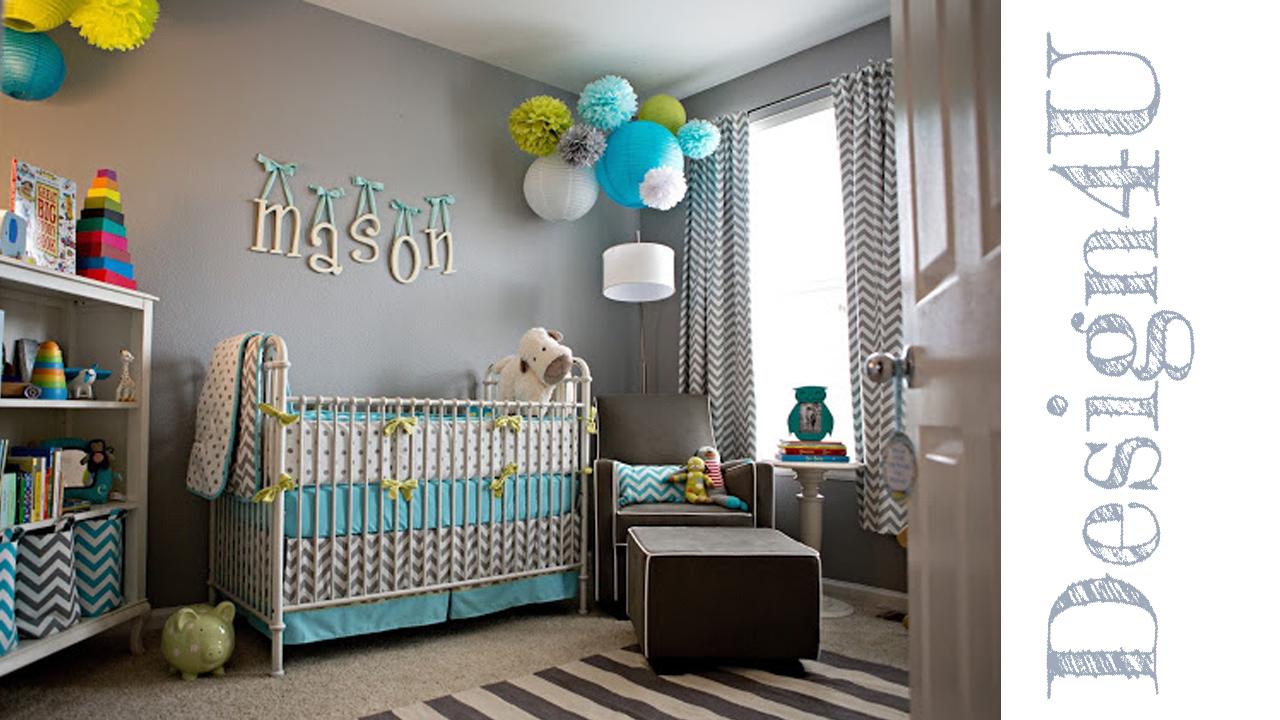 Idee per camerette neonati nursery design4u for Idee per abbellire la camera