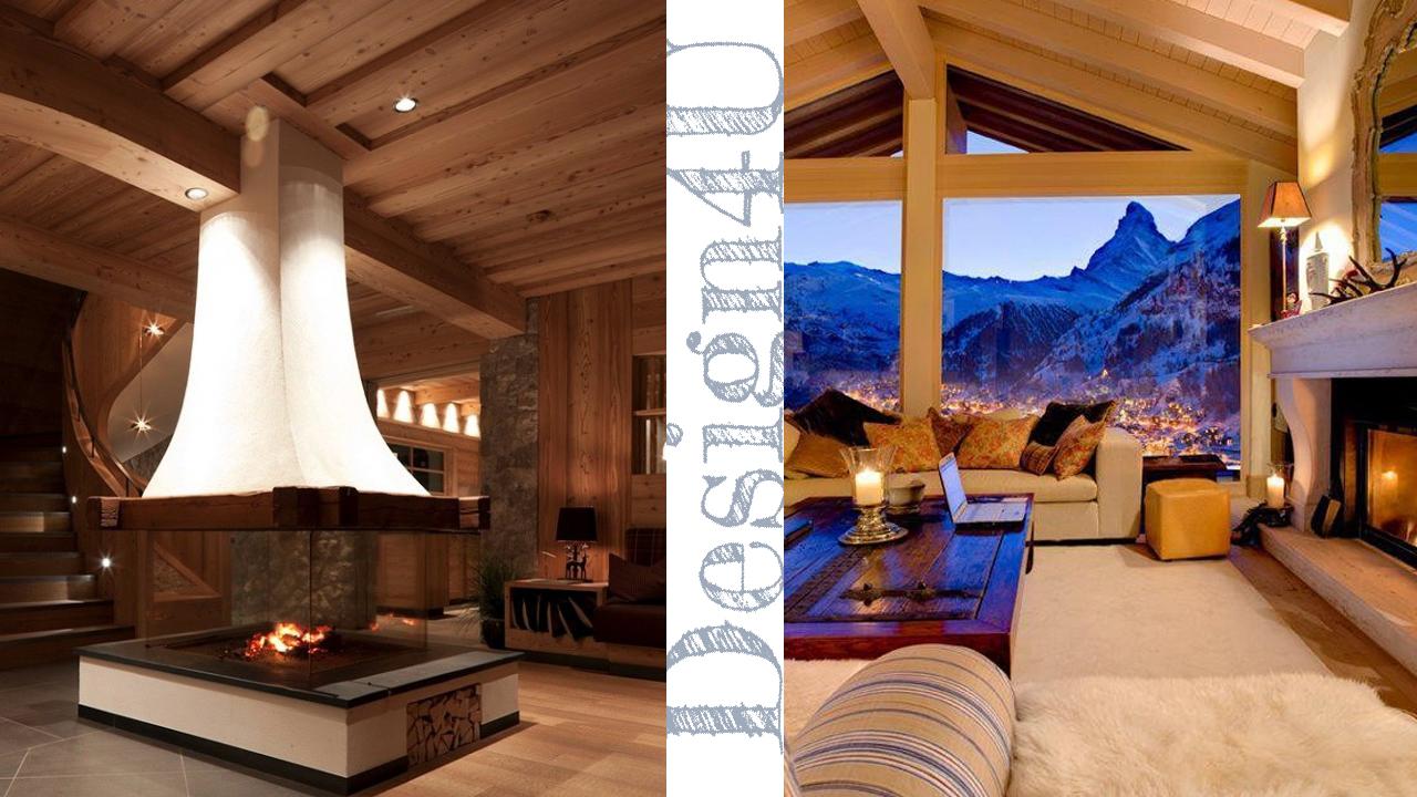 Divano Bianco O Nero : Arredare la casa in montagna chalet interior design u
