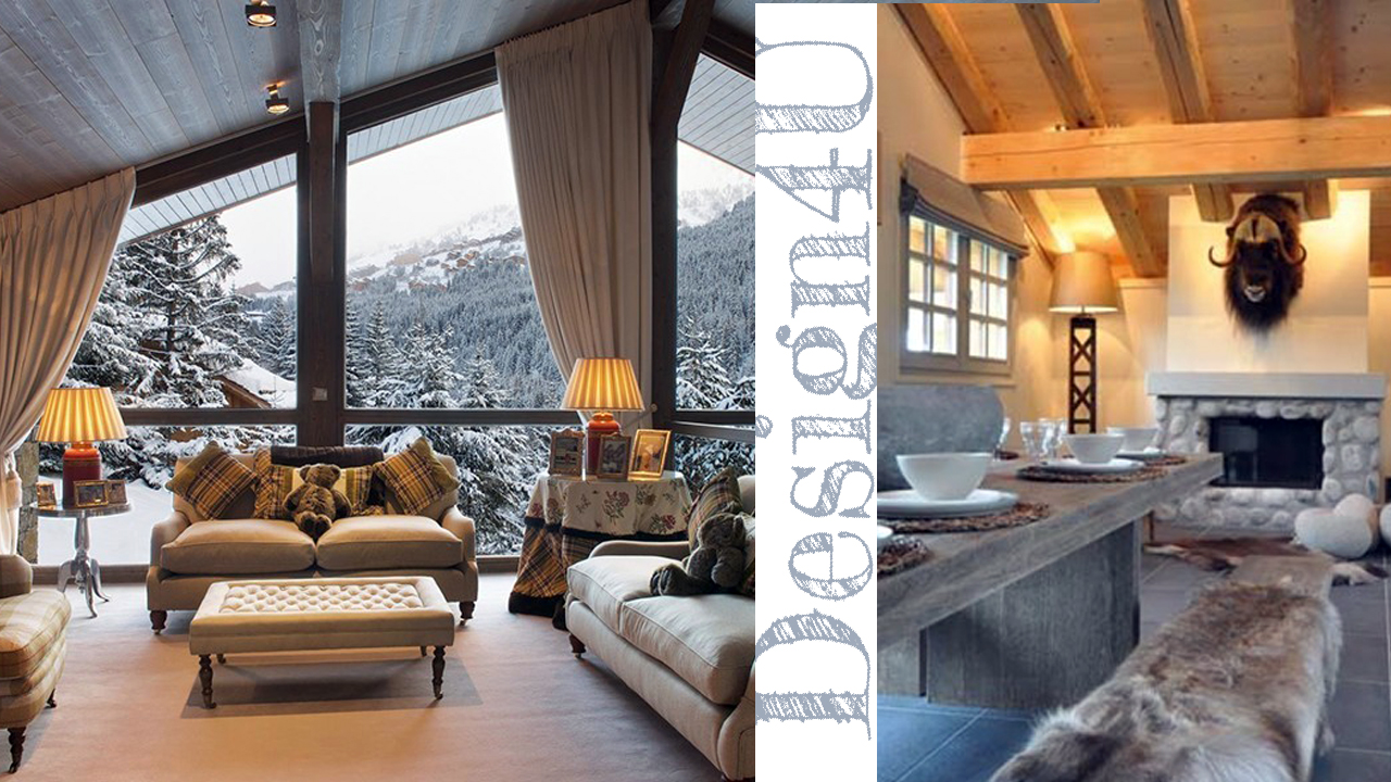 Arredare la casa in montagna chalet interior design4u for Capannone di casa in stile