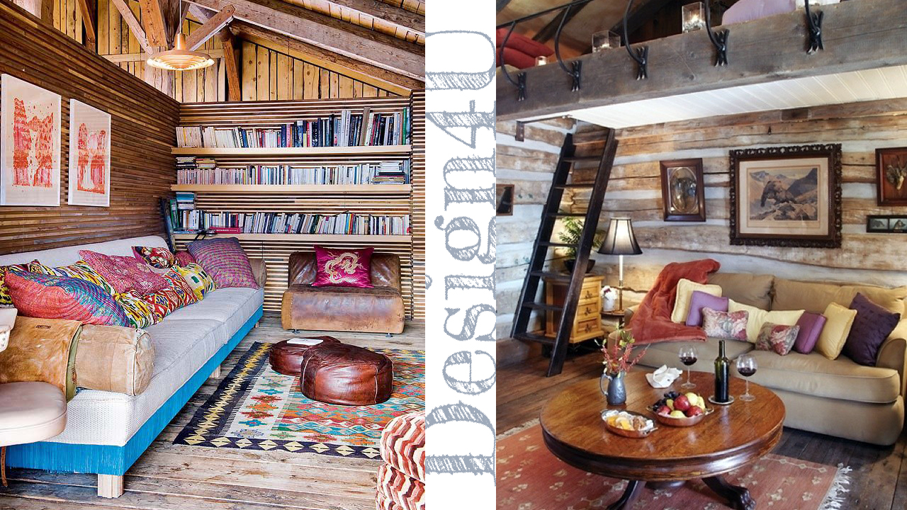Arredare la casa in montagna chalet interior design4u for Arredare casa stile country chic