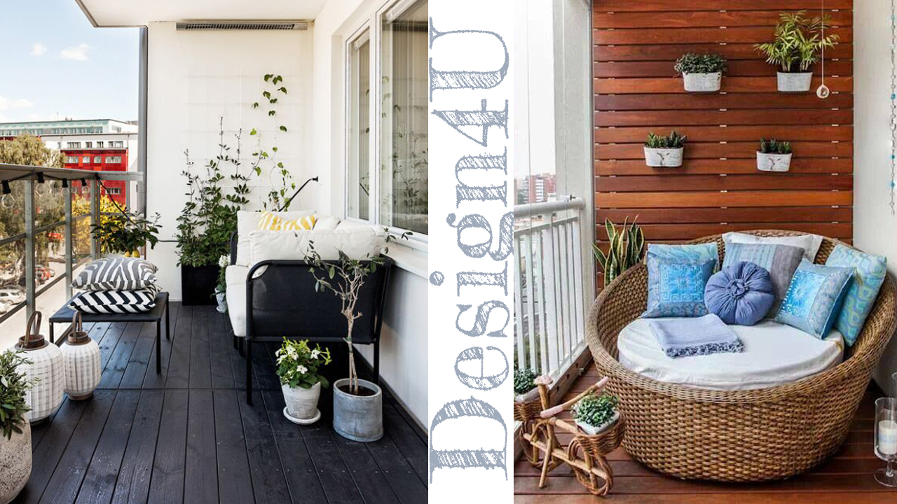 Come arredare un balcone – Decorate a balcony – Design4U